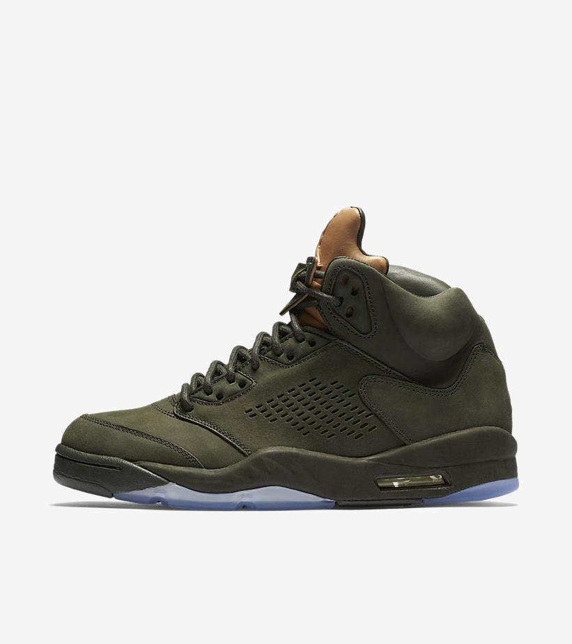 The Air Jordan Retro 5 'Pinnacle' in