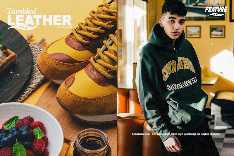 Feature x Saucony Courageous Belgian Waffle 2