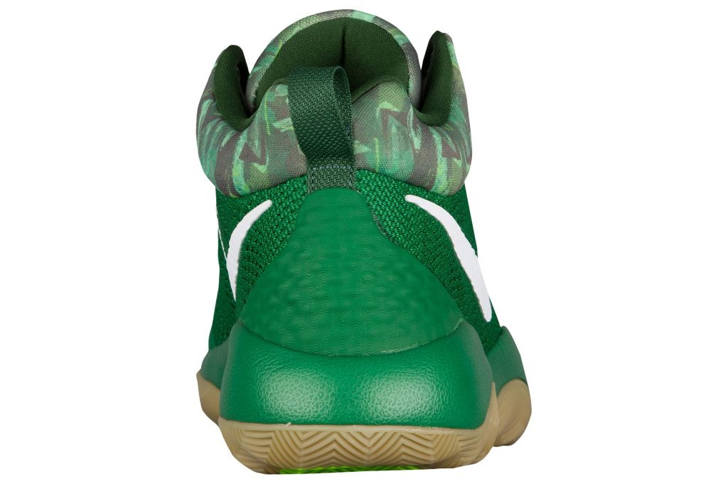 Nike Zoom rev - Pine Green - Heel