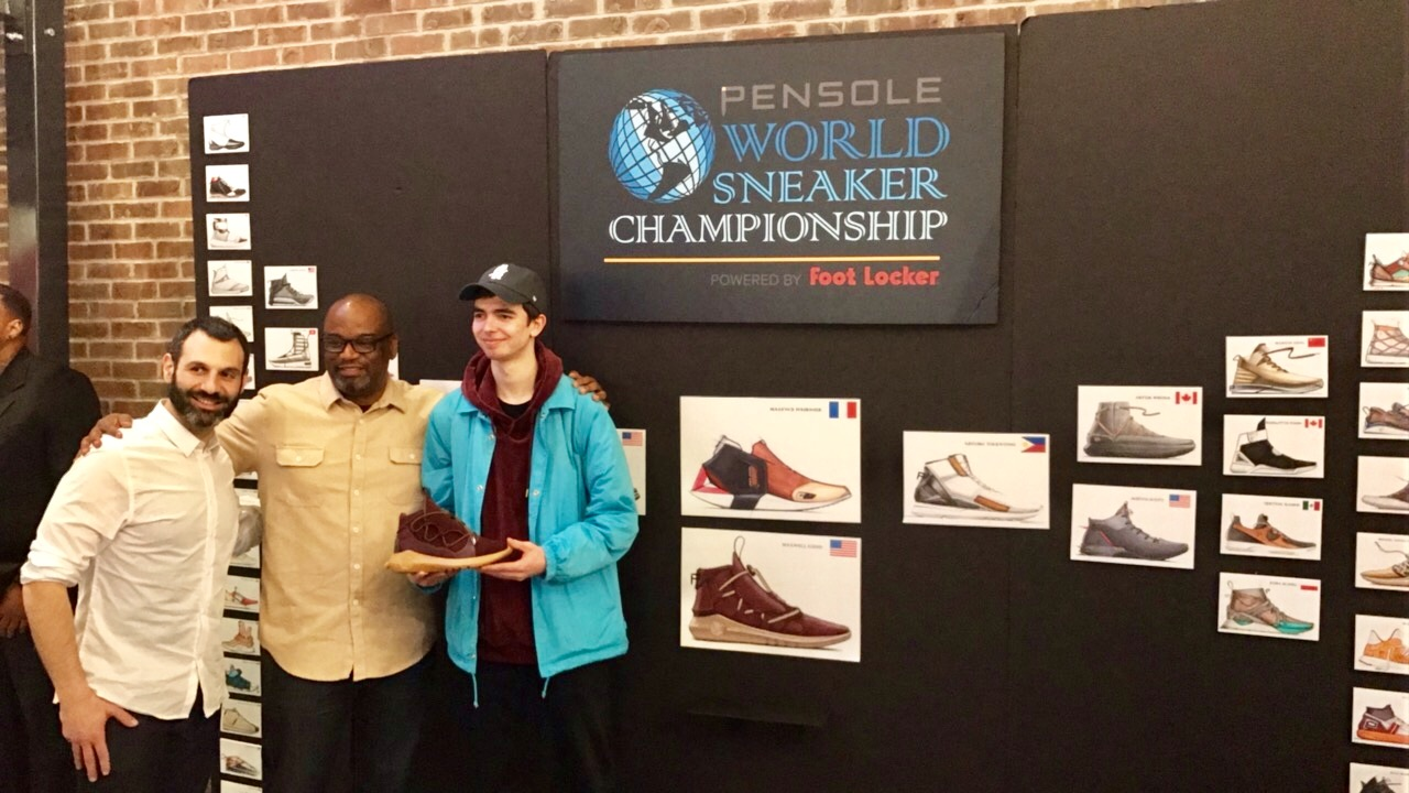 PENSOLE World Sneaker Championship maxwell lund 23