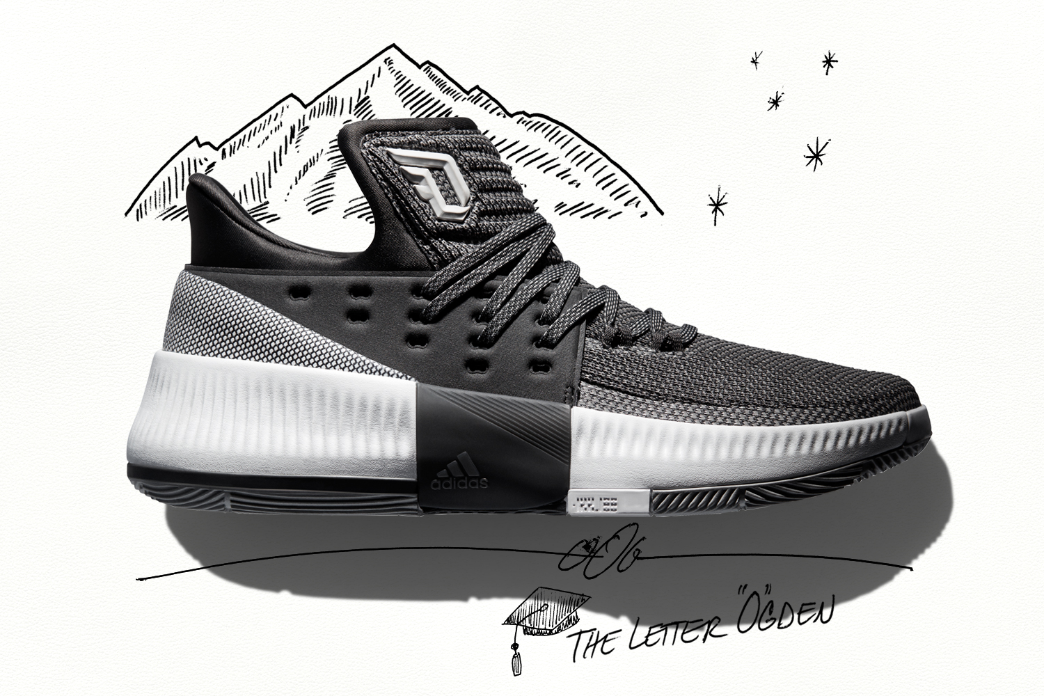 adidas Dame 3 'Wasatch Front' 1