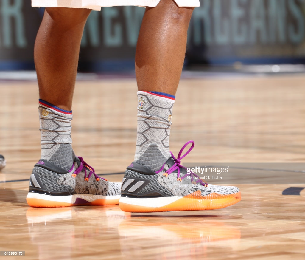 adidas crazylight boost low all star games