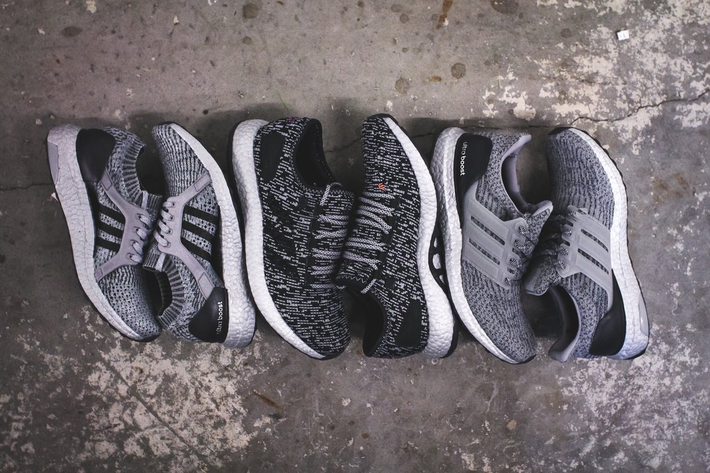 adidas silver boost collection