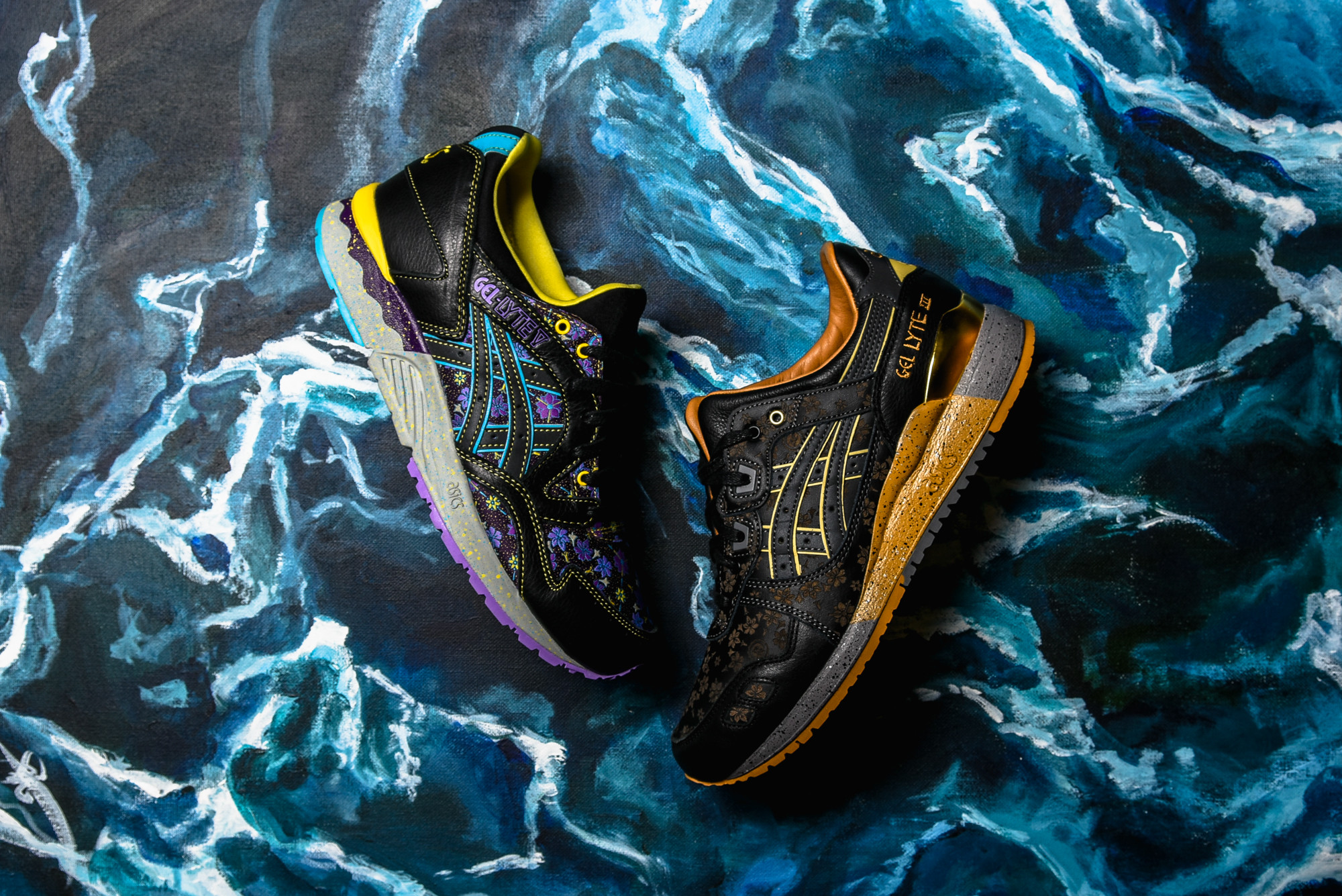 ASICS x The Limited Edt Gel-Lyte III Vanda Kuro 4