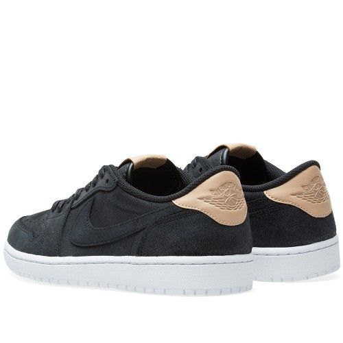 Air Jordan 1 Low Retro PRM Suede – FBack