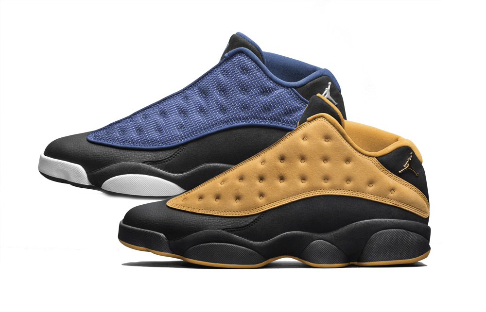 Air Jordan 13 Retro Low Brave Blue-Chutney