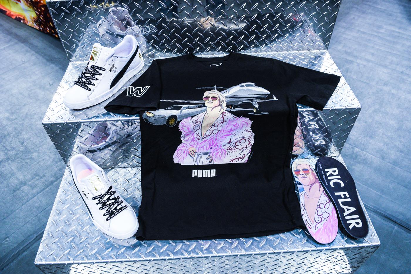 Foot Locker WWE - Flair Shirt and Shoes