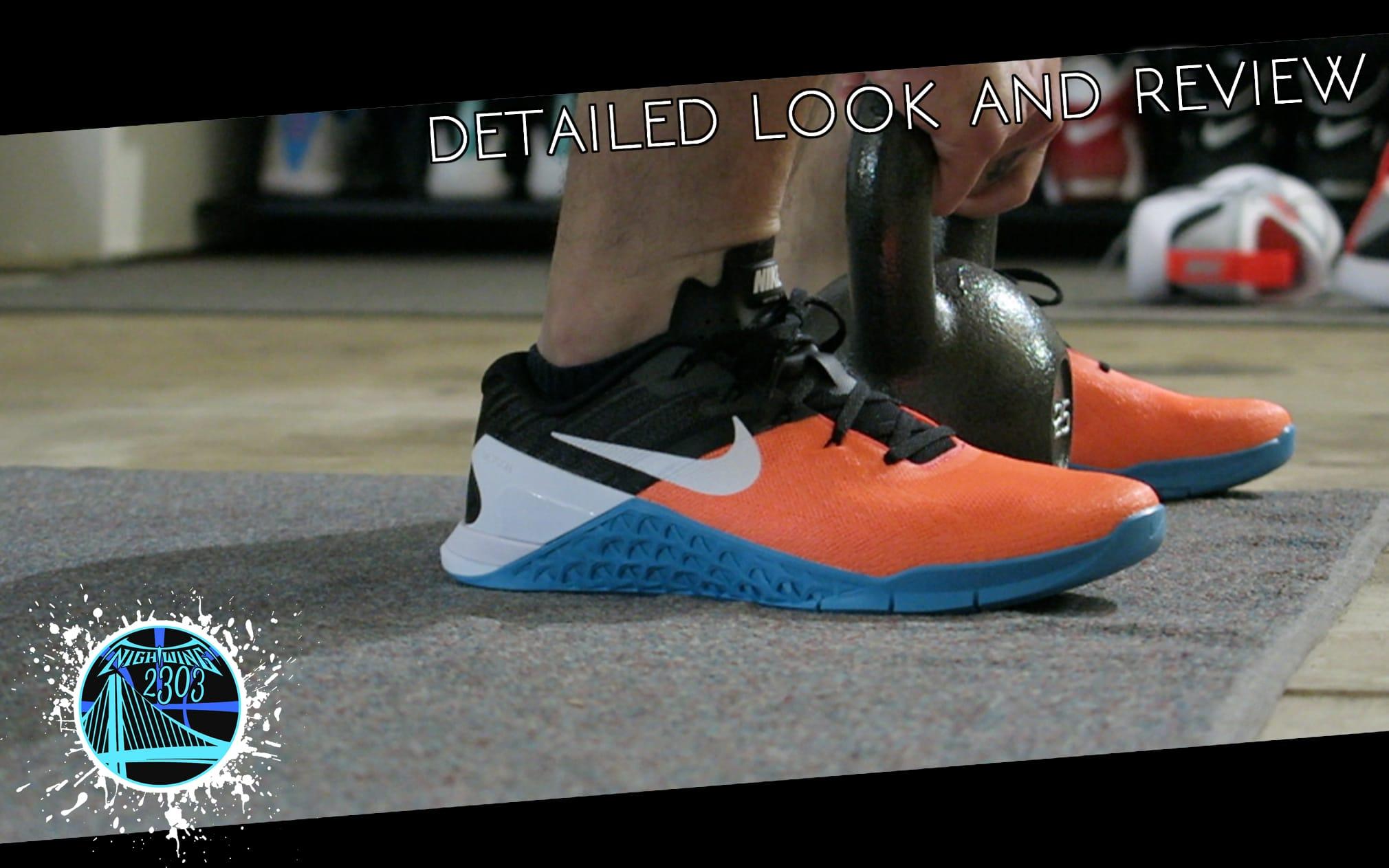 Nike Metcon detailed look