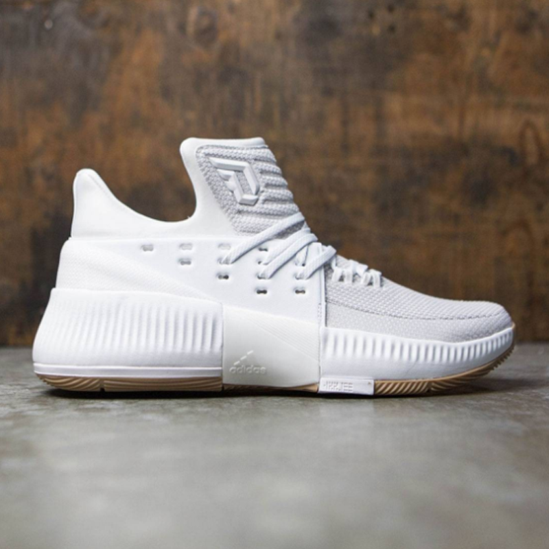 adidas Dame 3 White Gum Available Now 1