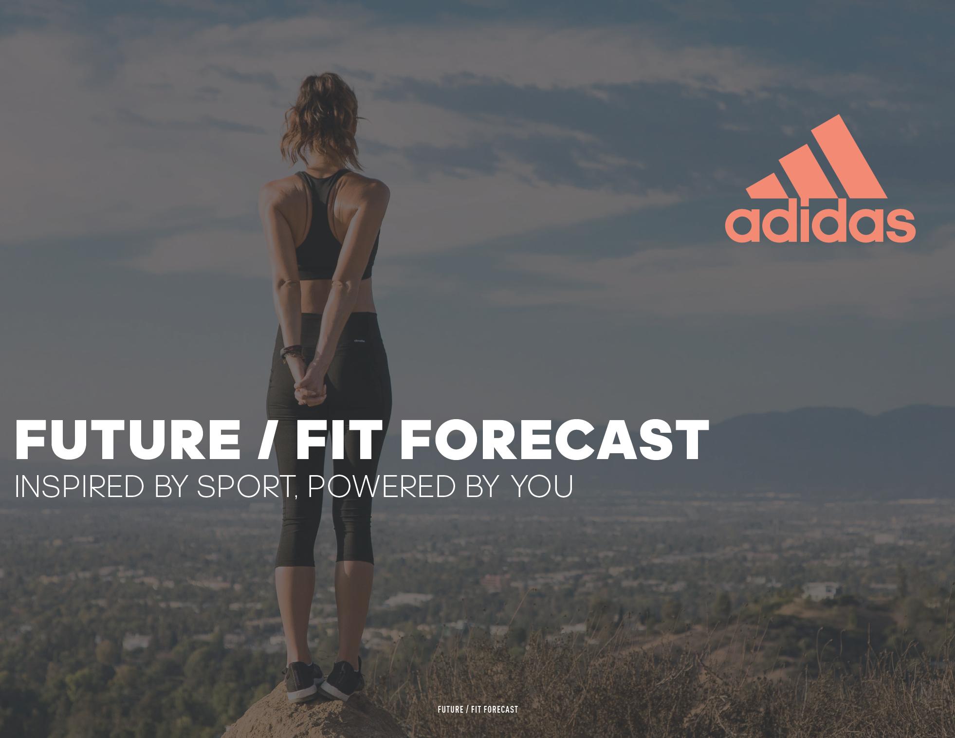 adidas Digital Sports future fit forecast 1