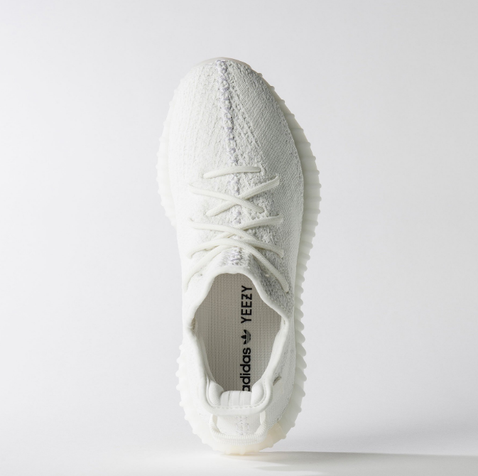 adidas Yeezy Boost 350 Cream White 1