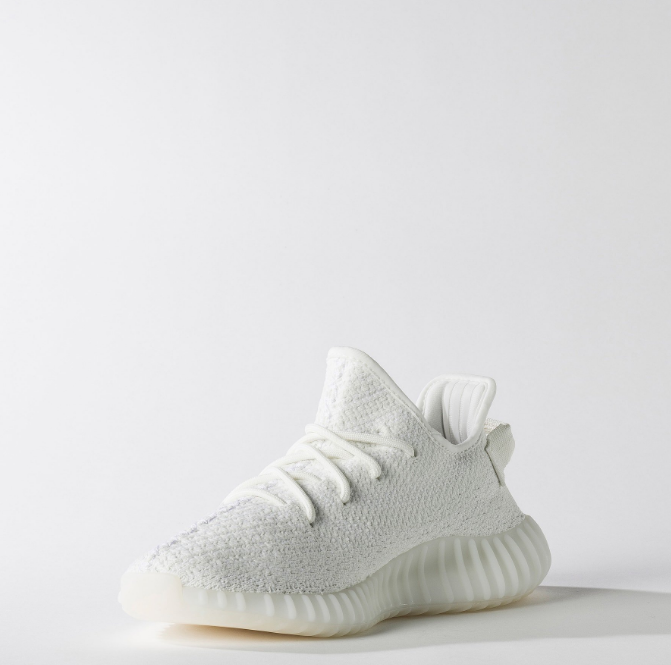 adidas Yeezy Boost 350 Cream White 2