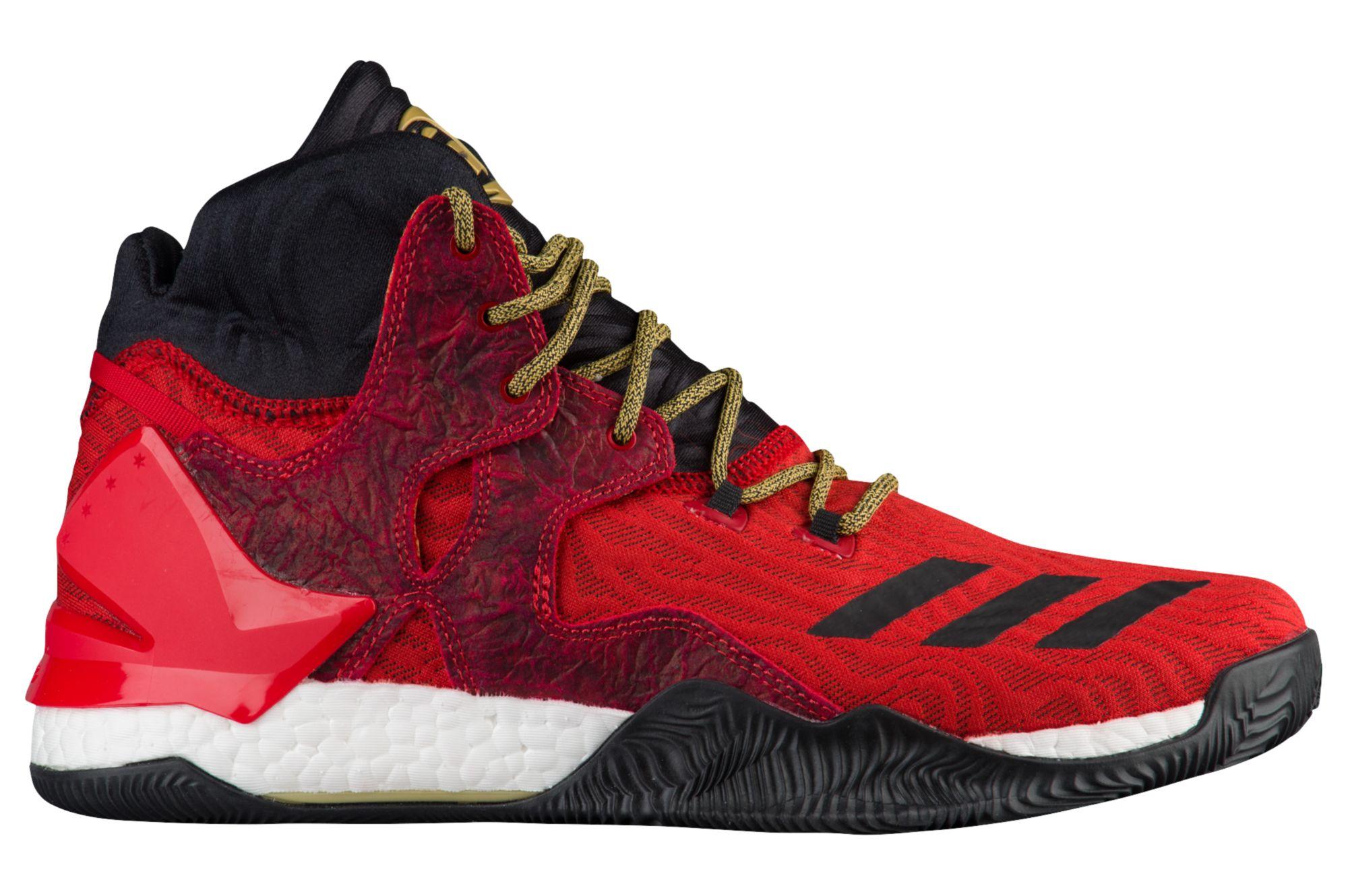 adidas d rose 7 scarlet gold 1