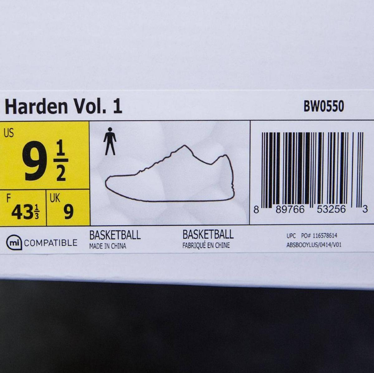 adidas harden vol 1 trace cargo 6