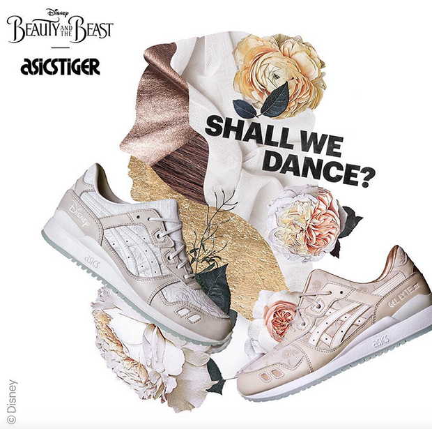 saltar Humillar despierta  Asics Teams up With Disney's Beauty and the Beast for an Enchanted  Collaboration - WearTesters