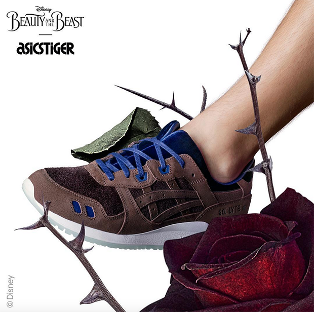 beauty and the beast asics gel-lyte III collab 5