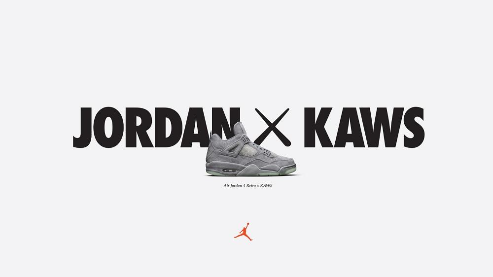jordan IV kaws opening