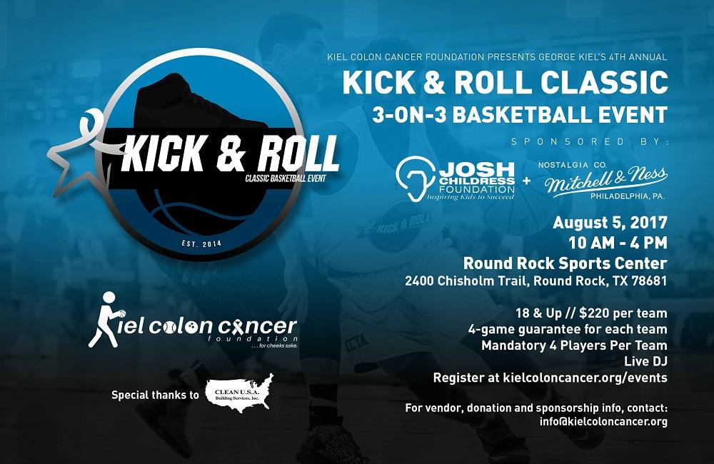 kiel colon cancer foundation 4th annual kick roll classic