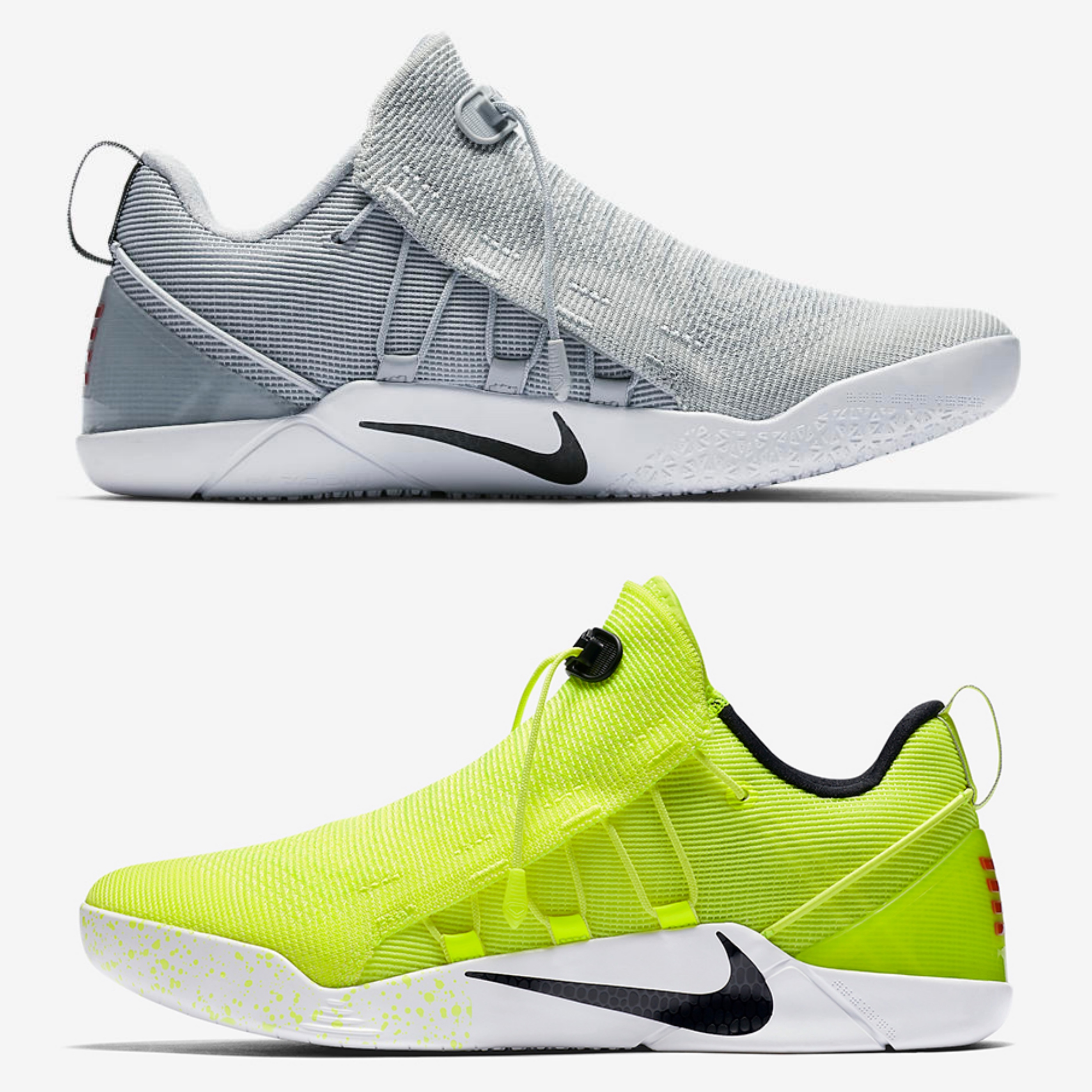 nike kobe ad nxt grey and volt