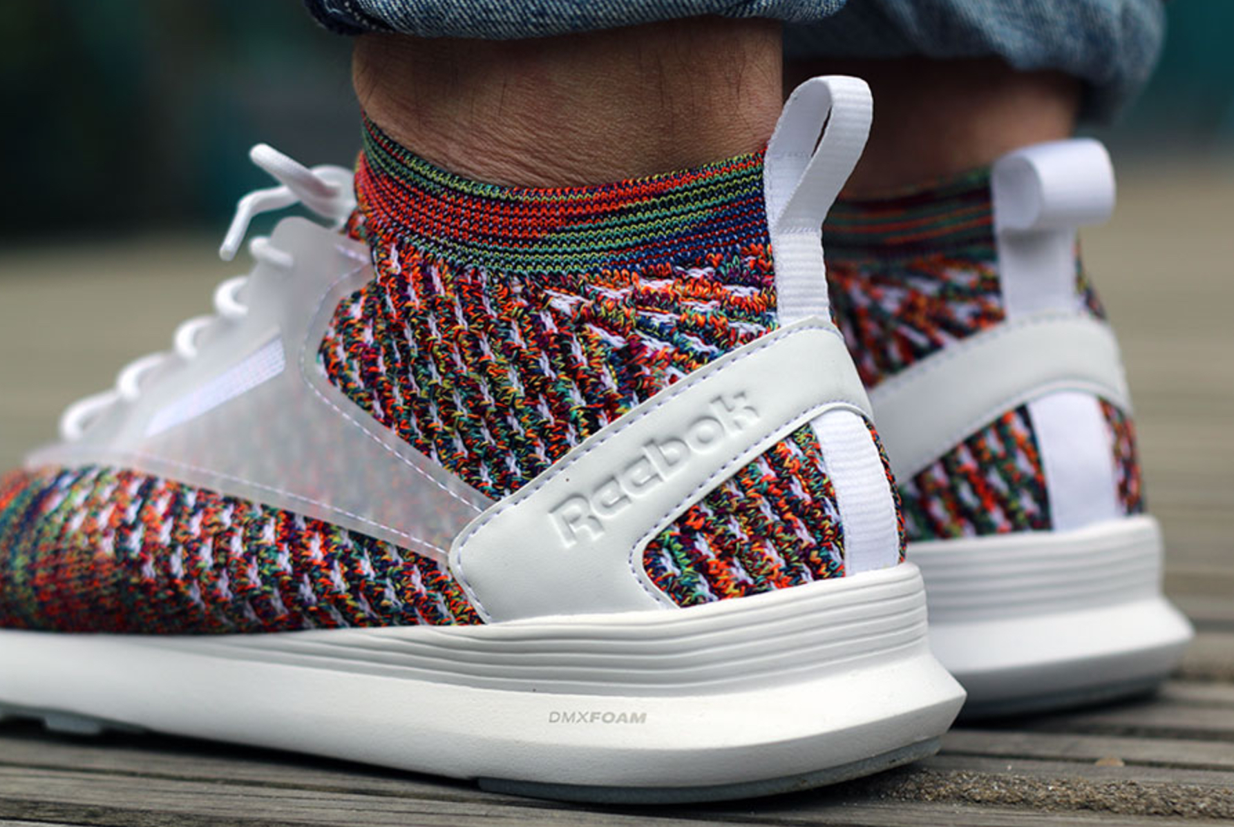 reebok zoku runner ultraknit multicolor