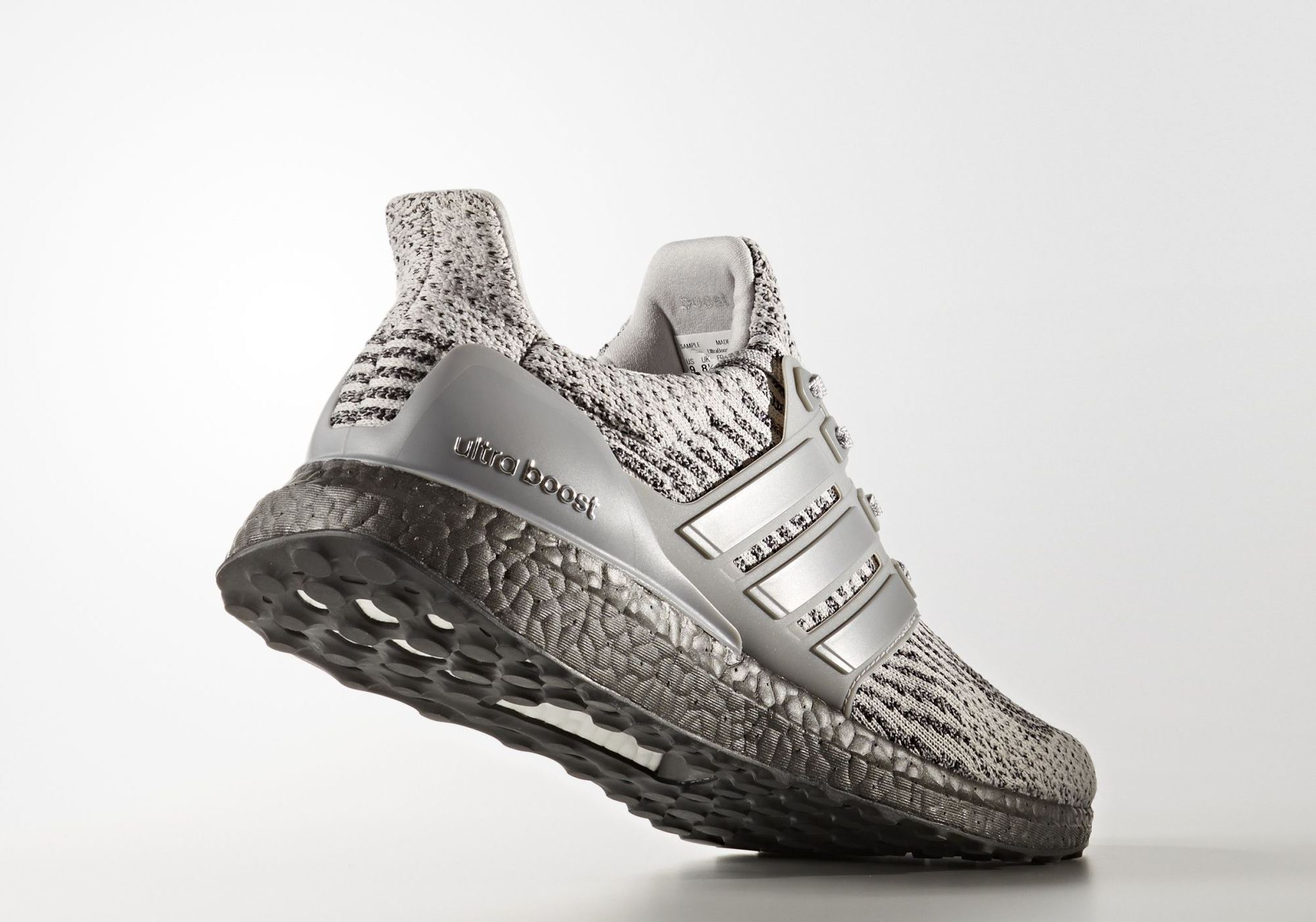 Adidas Ulta Boost – Cool Grey – Angle