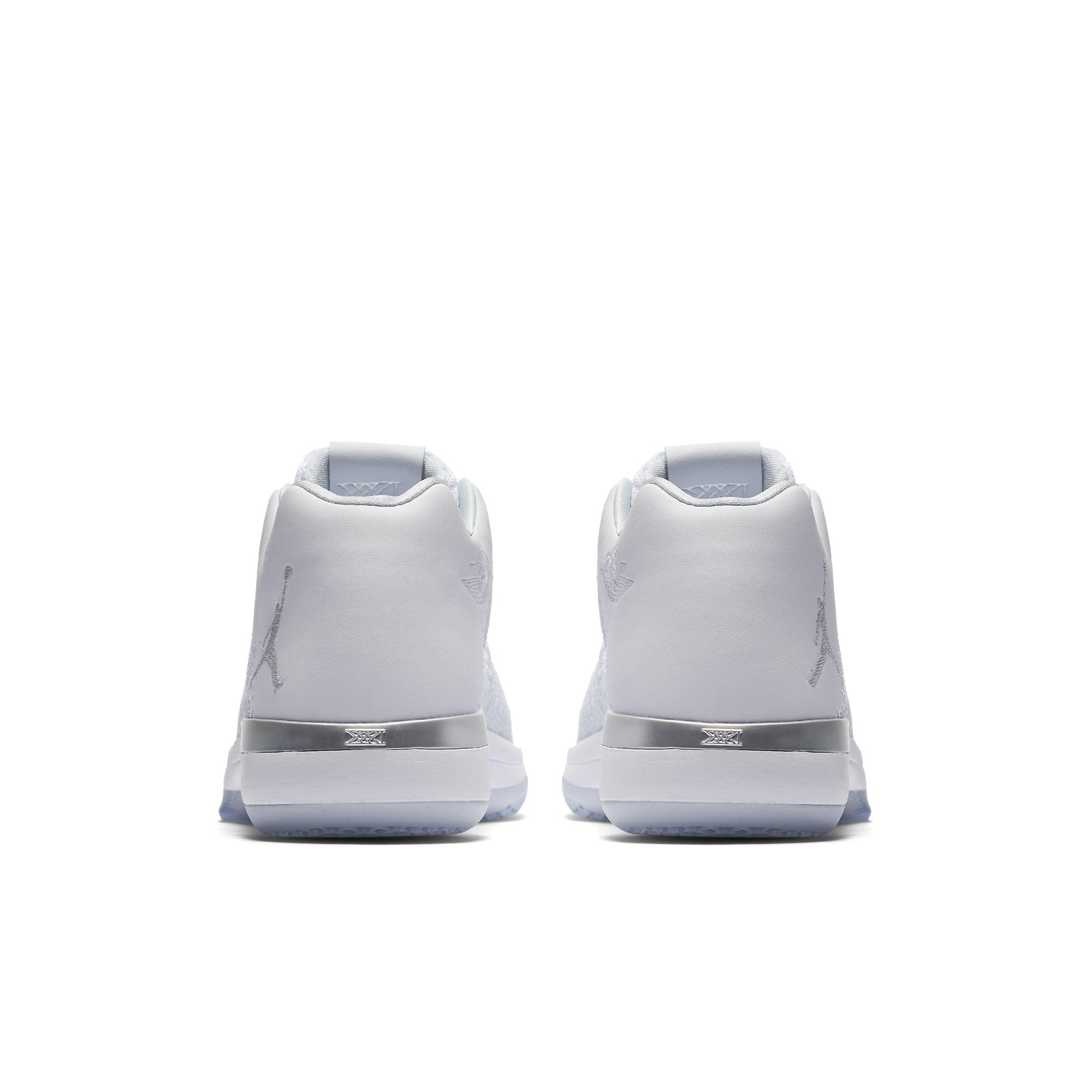 Air Jordan XXXI Low Pure Platinum 4 WearTesters