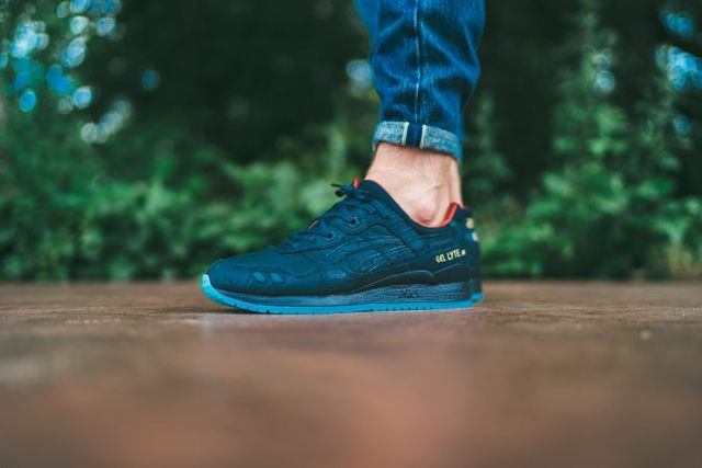 Asics Gel-Lyte III Lacquer Pack – on Foot Full