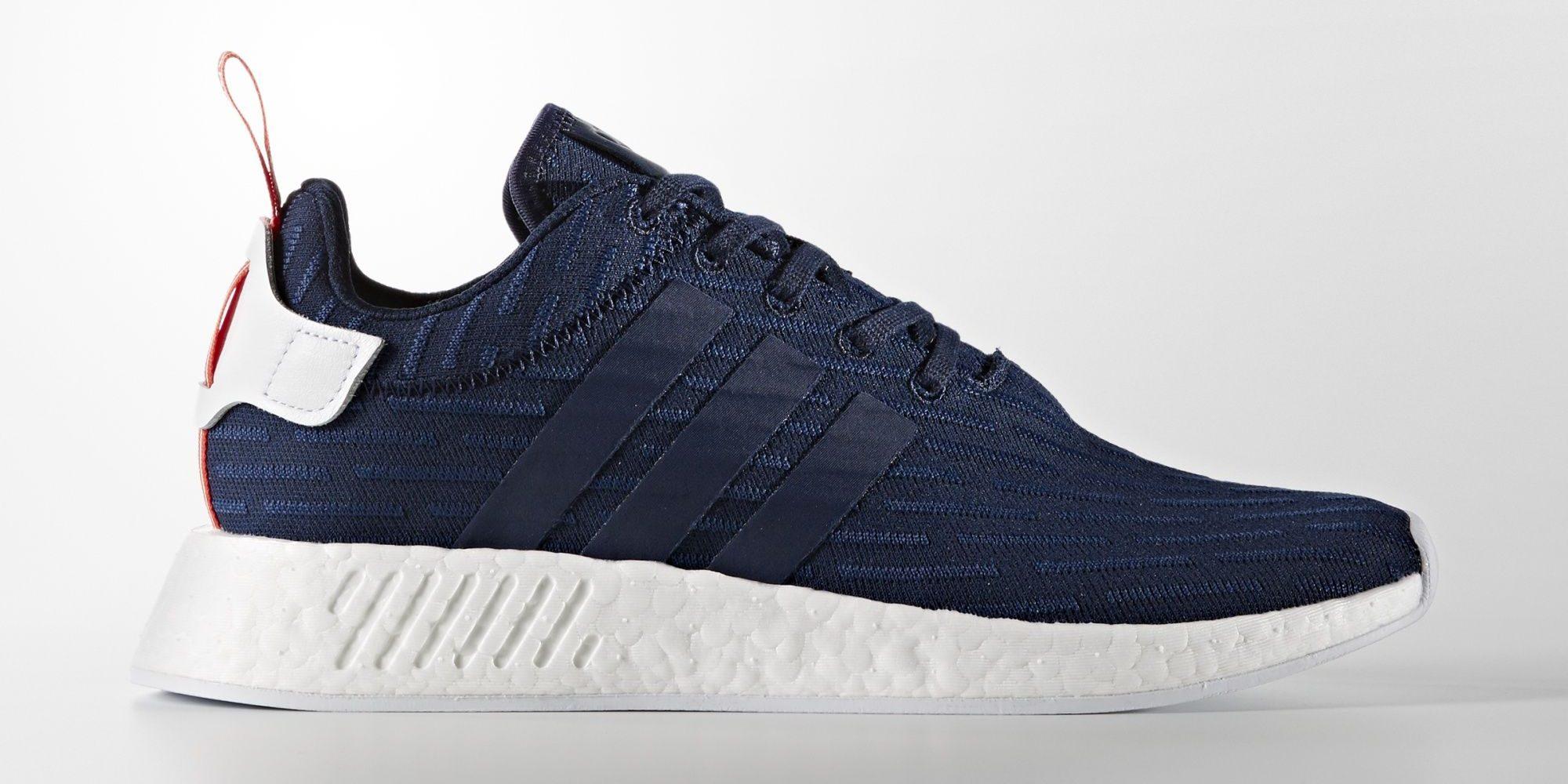 Black Adidas Nmd R2 Primeknit Sneakers For Men Farfetc.