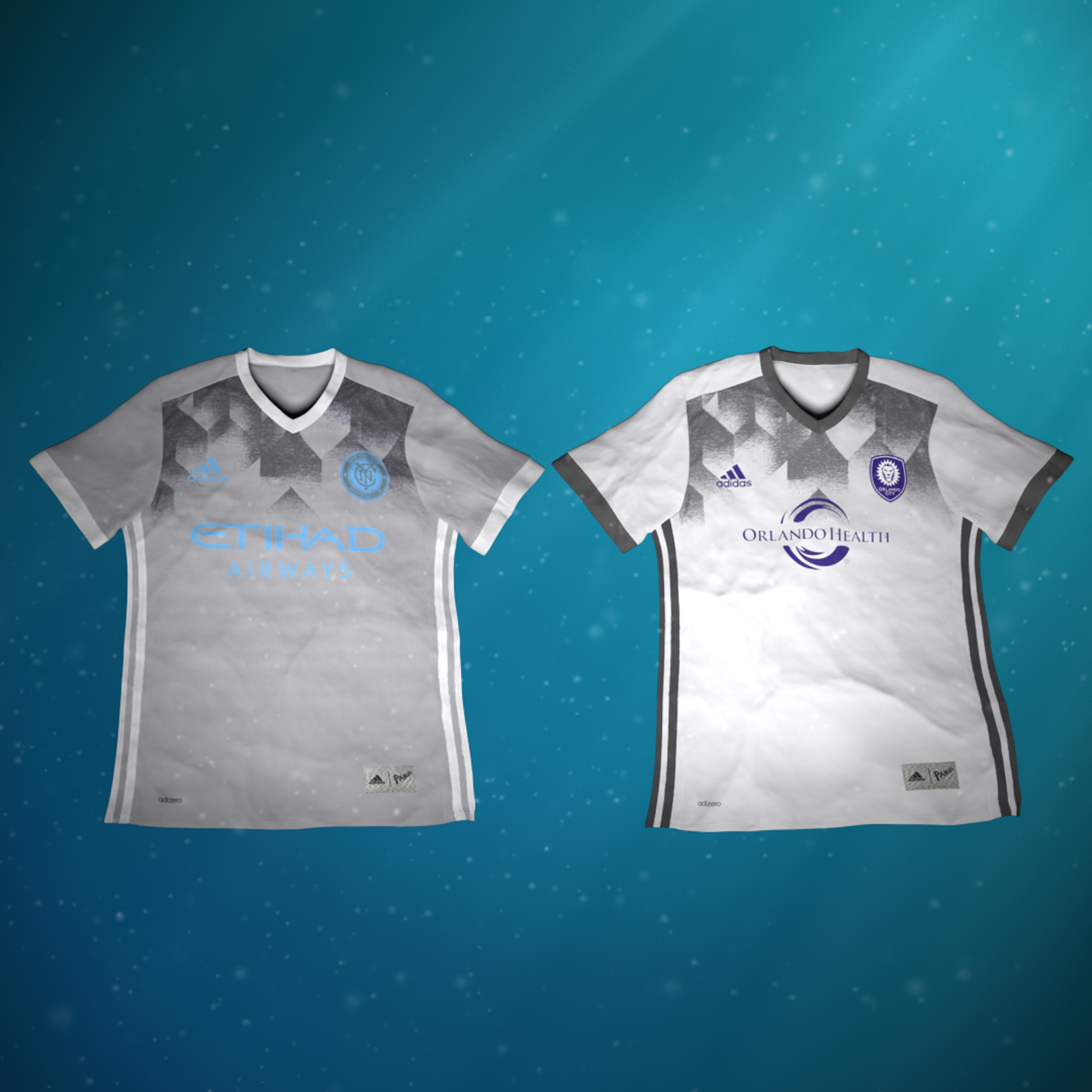 adidas major league soccer parley for the oceans MLS club jerseys 3