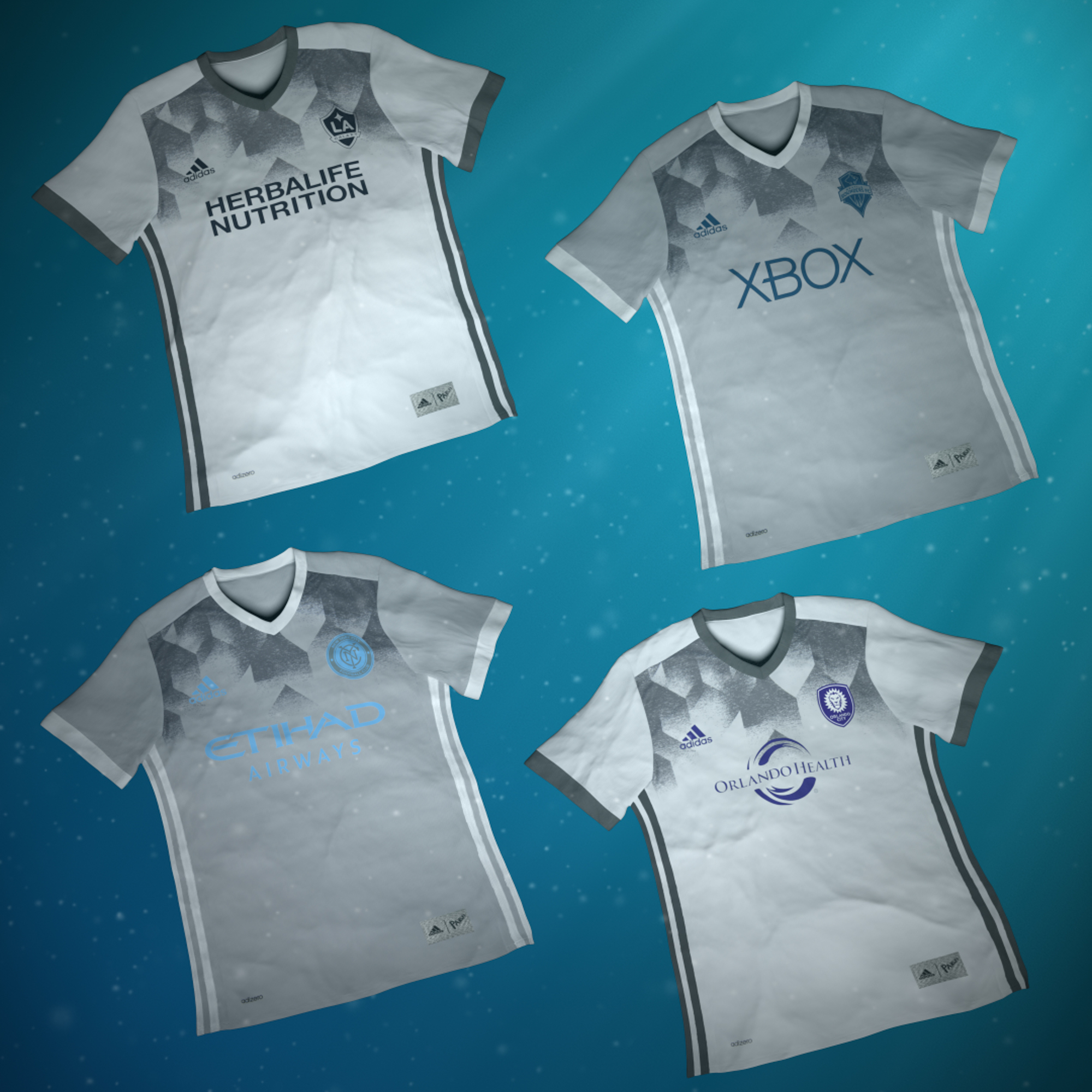 adidas major league soccer parley for the oceans MLS club jerseys 7