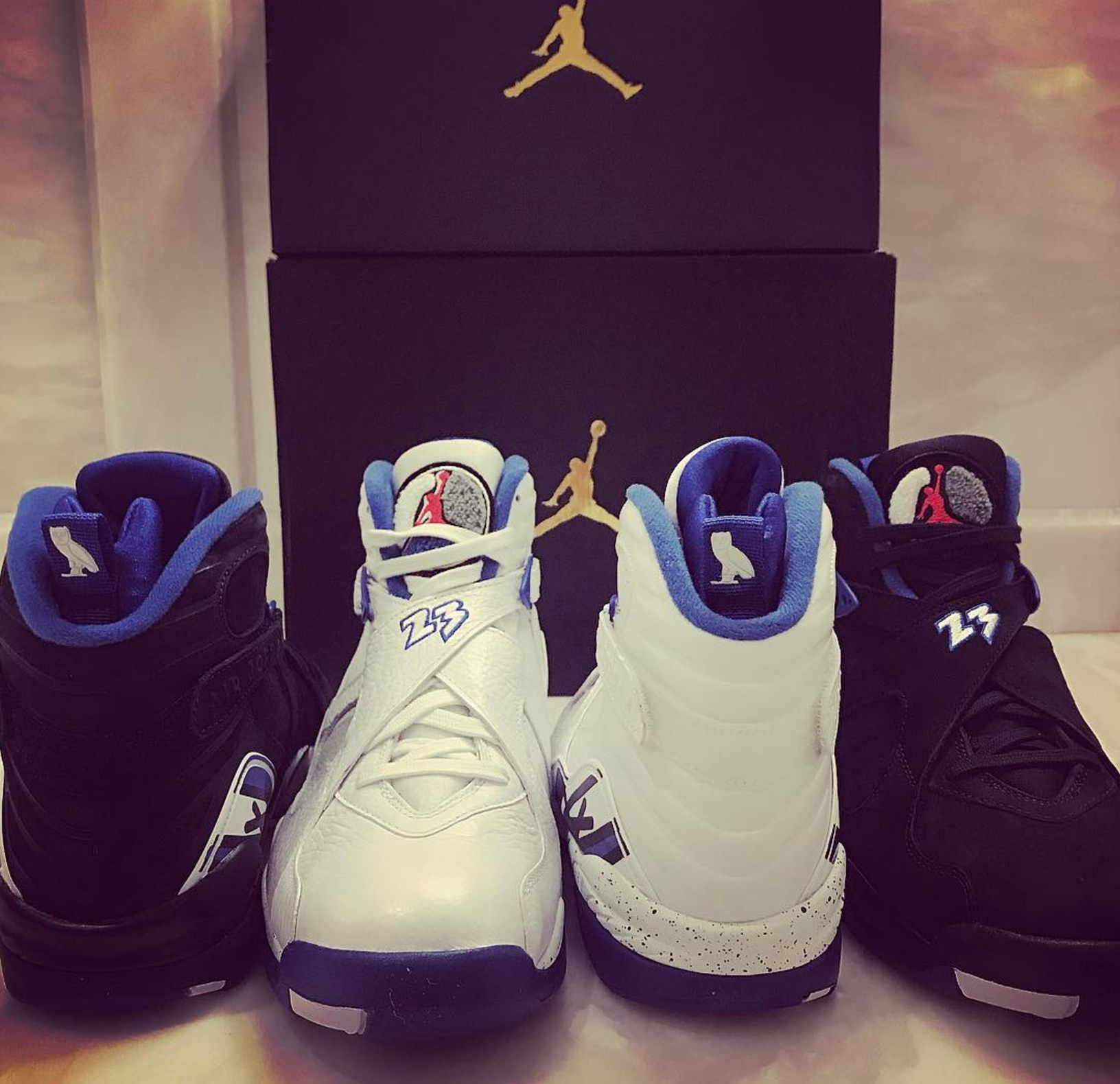 air jordan OVO Jordan 8 CALIPARI PACK 2