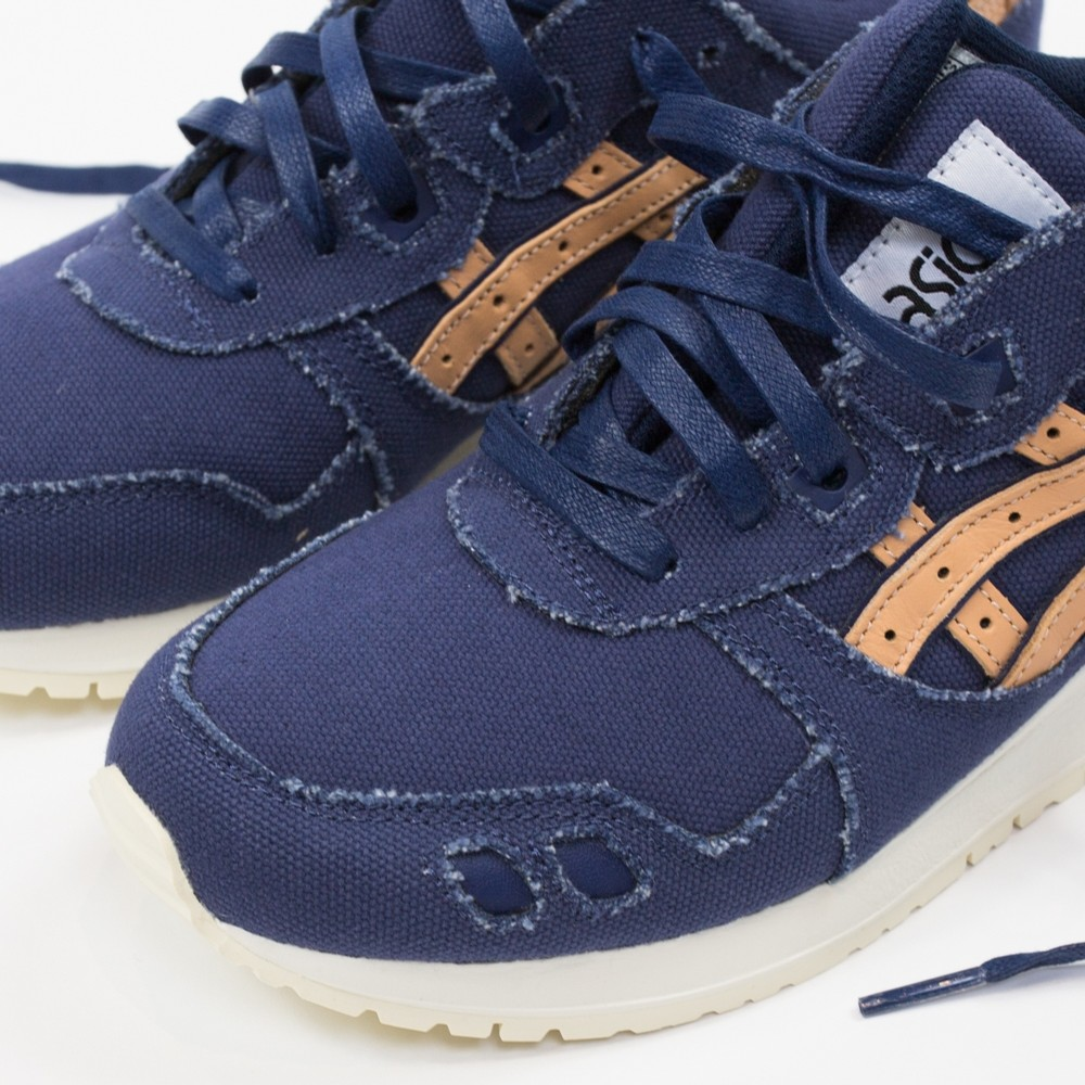 asics gel lyte iii indigo blue tan denim 1 WearTesters