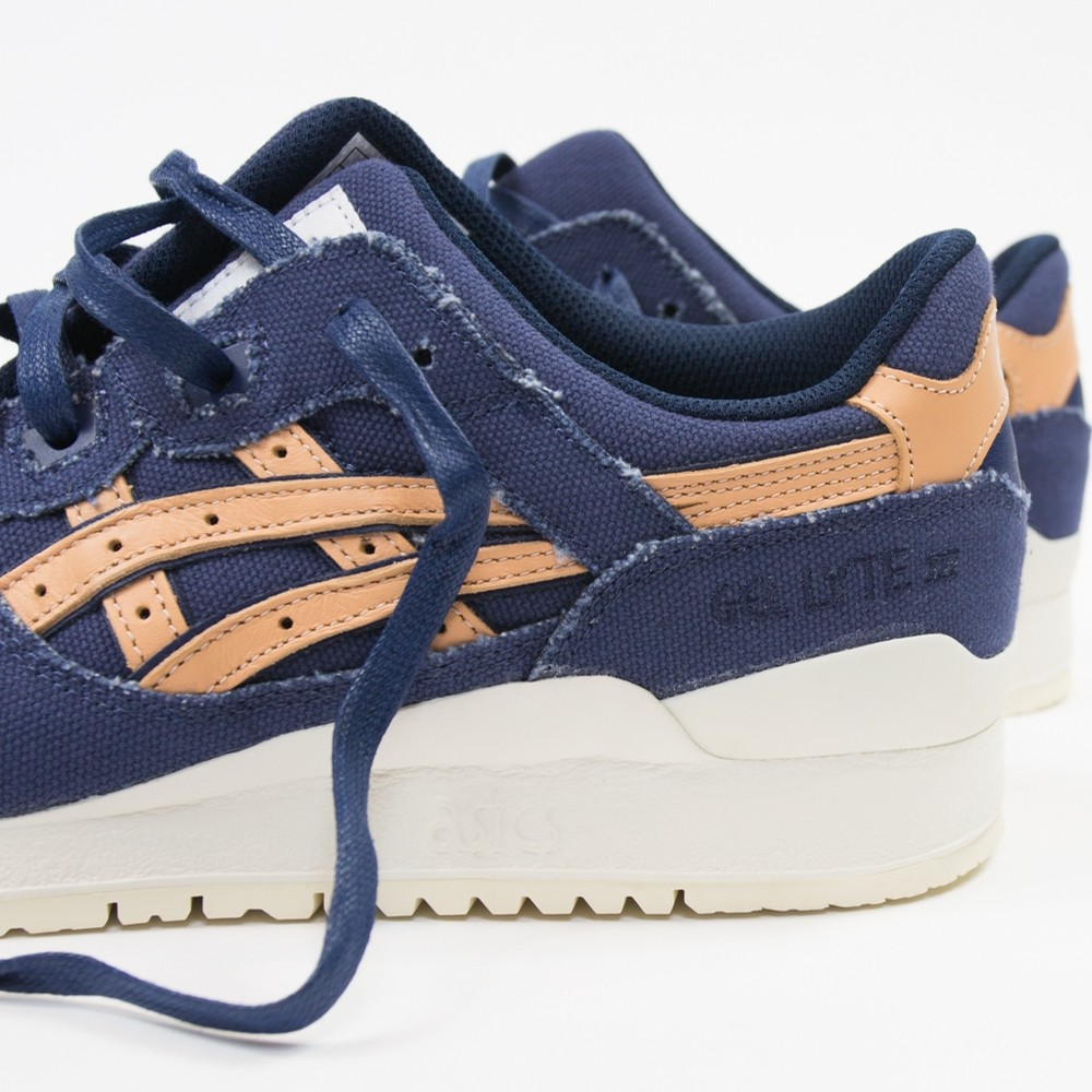 asics gel lyte iii indigo blue tan denim 2 WearTesters