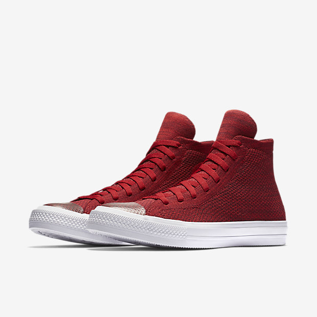 converse chuck taylor all star flyknit red 4