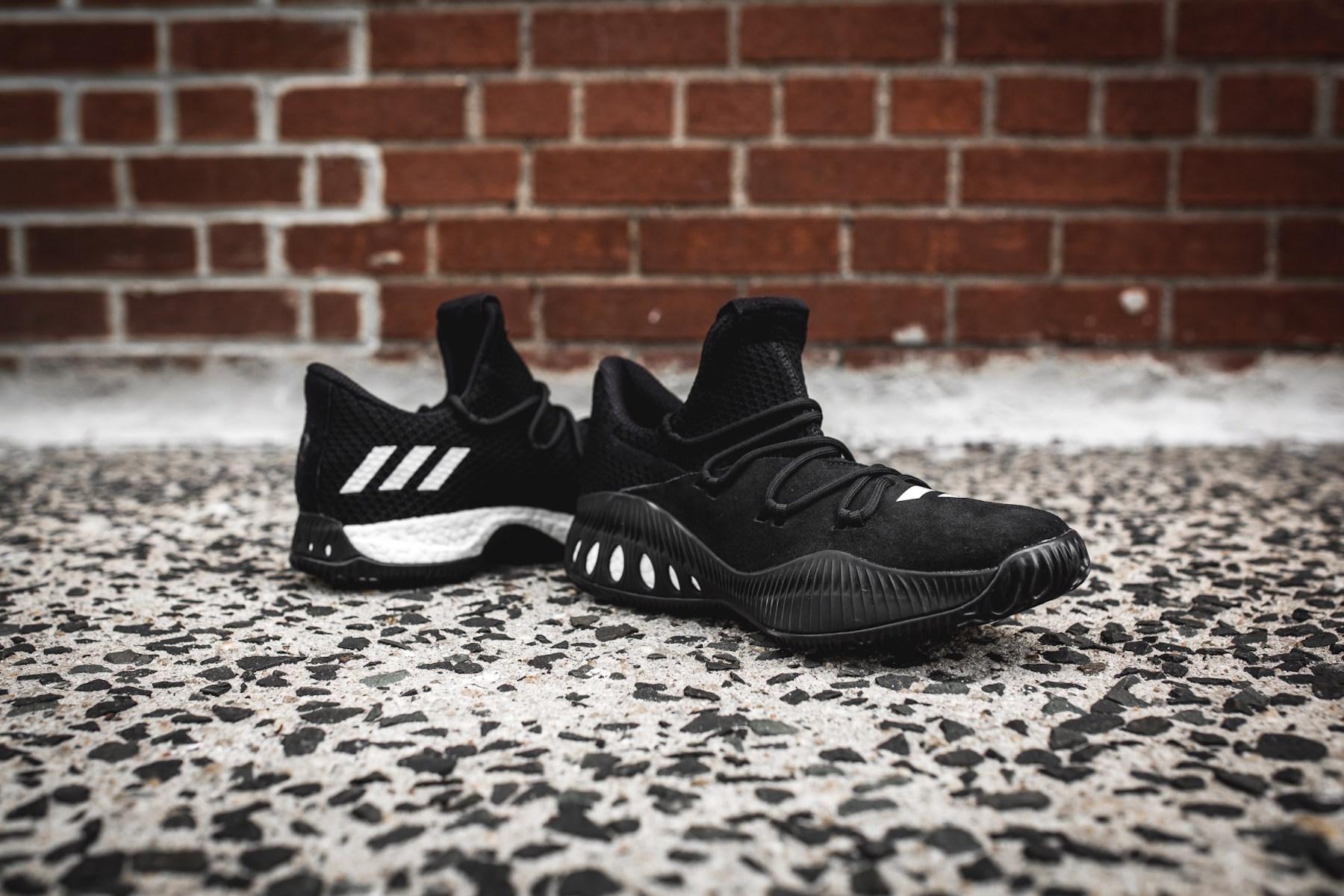 day one adidas Crazy Explosive black 3