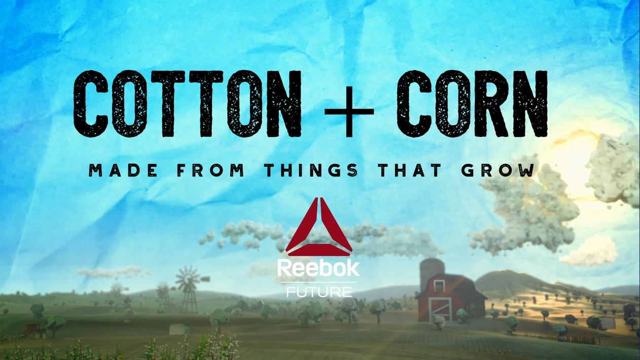 reebok cotton + corn sustainability initiative 1