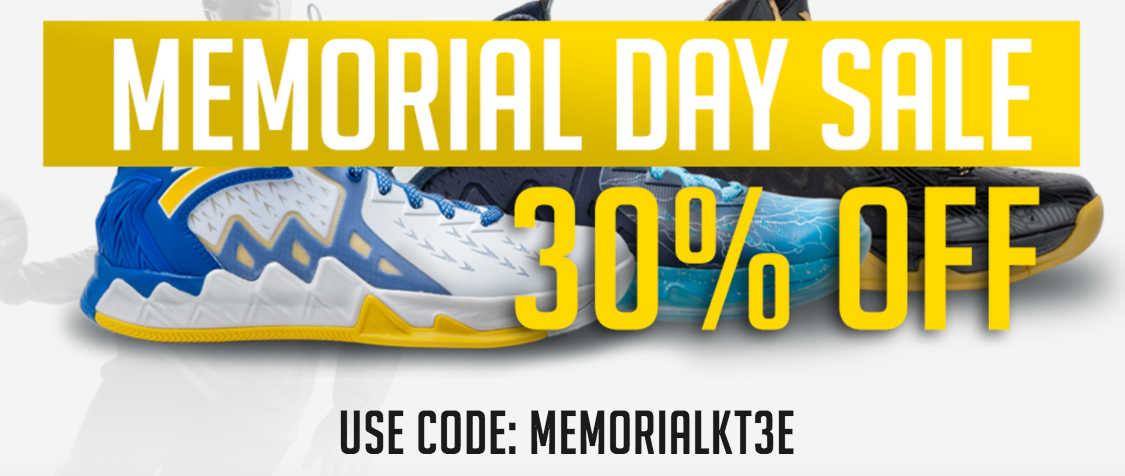 Anta Memorial Day sale