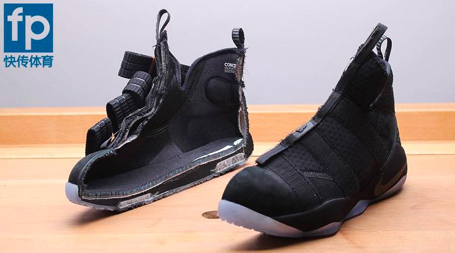 LeBron Soldier XI Black Ice 25