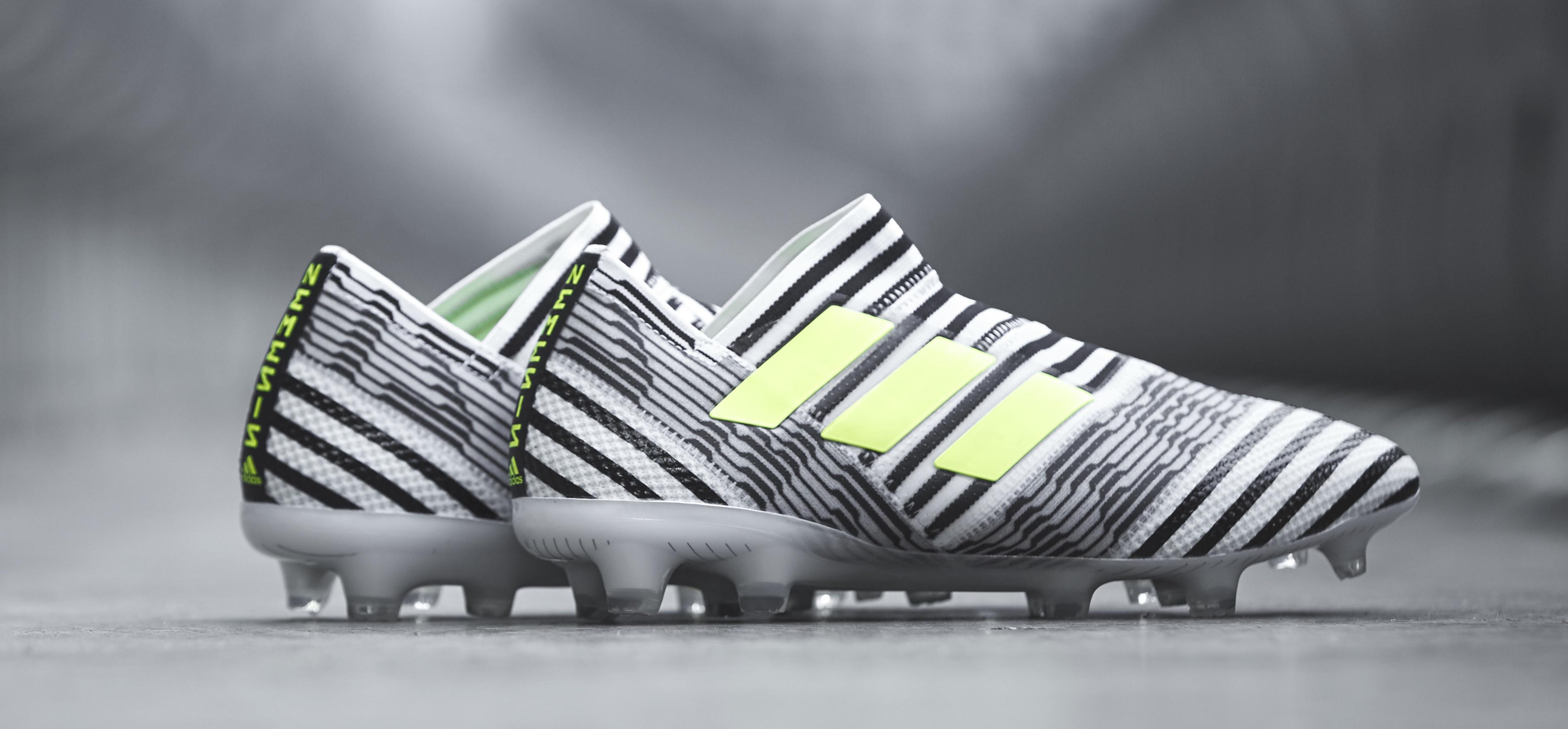 adidas Nemeziz black and white 1