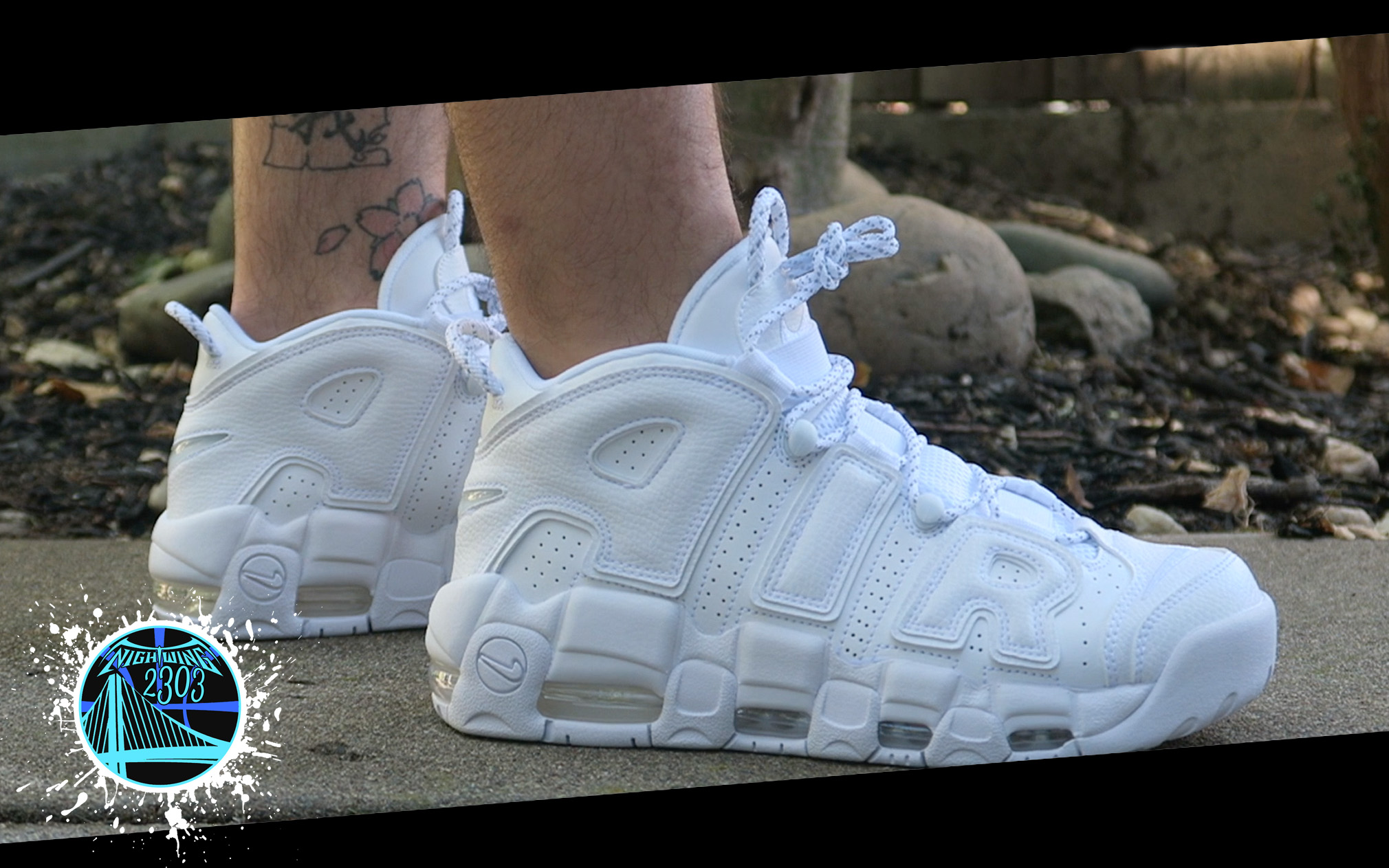 Nike Air More Uptempo 'White on White' | Detailed Look and Review