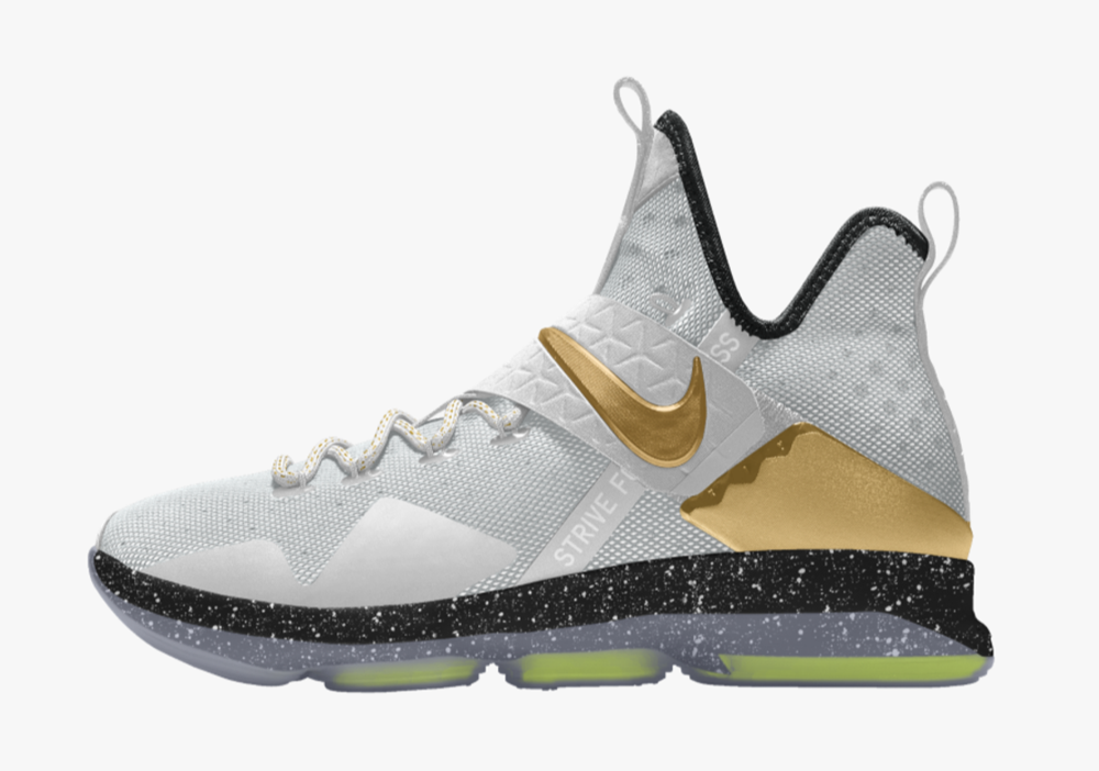 The Nike LeBron 14 is Now Available for