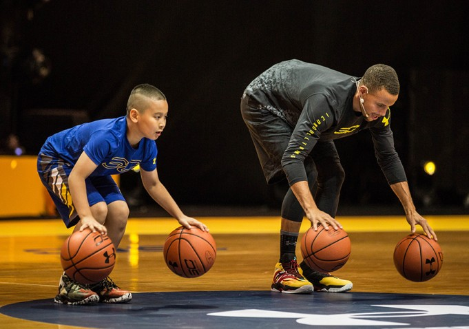 Stephen Curry and Under Armour Will Return to Asia This Summer