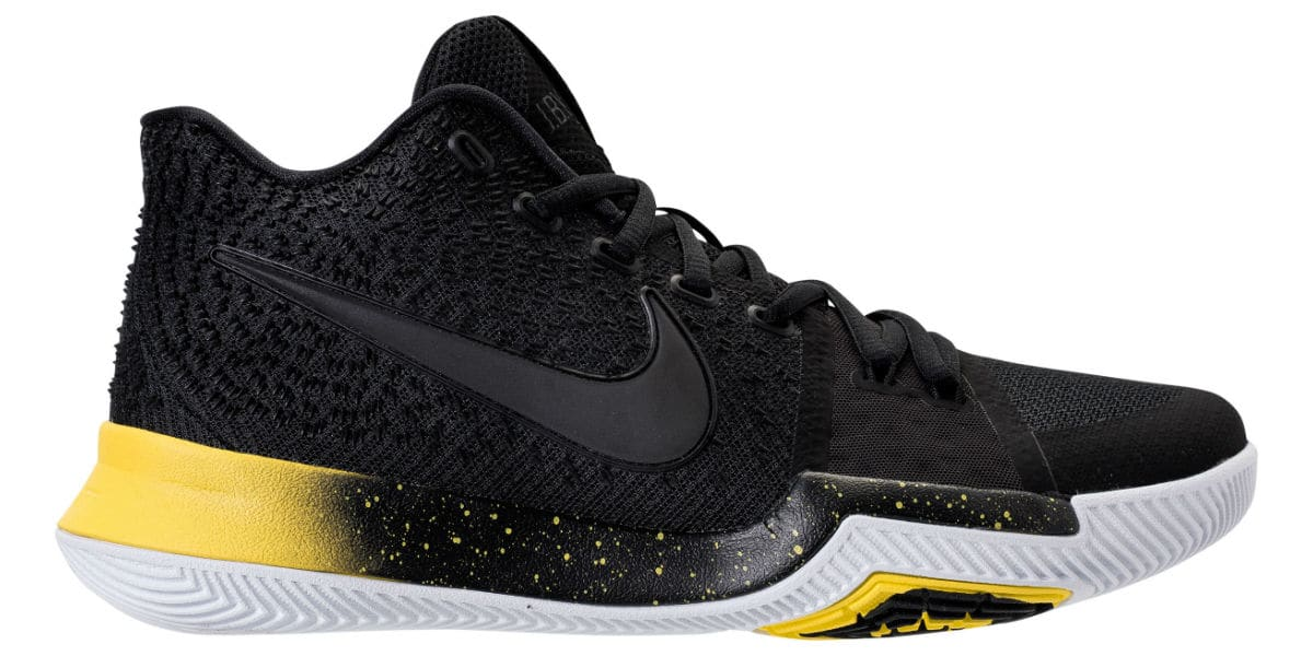 outlet store ccc81 4211e The Nike Kyrie 3 Arrives in Black & Yellow - WearTesters