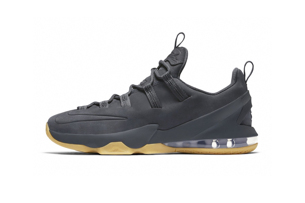 The Nike LeBron 13 Low Goes Premium With This 'Anthracite' Colorway-2
