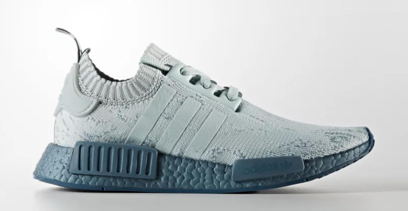 adidas nmd r1 primeknit blue boost 7