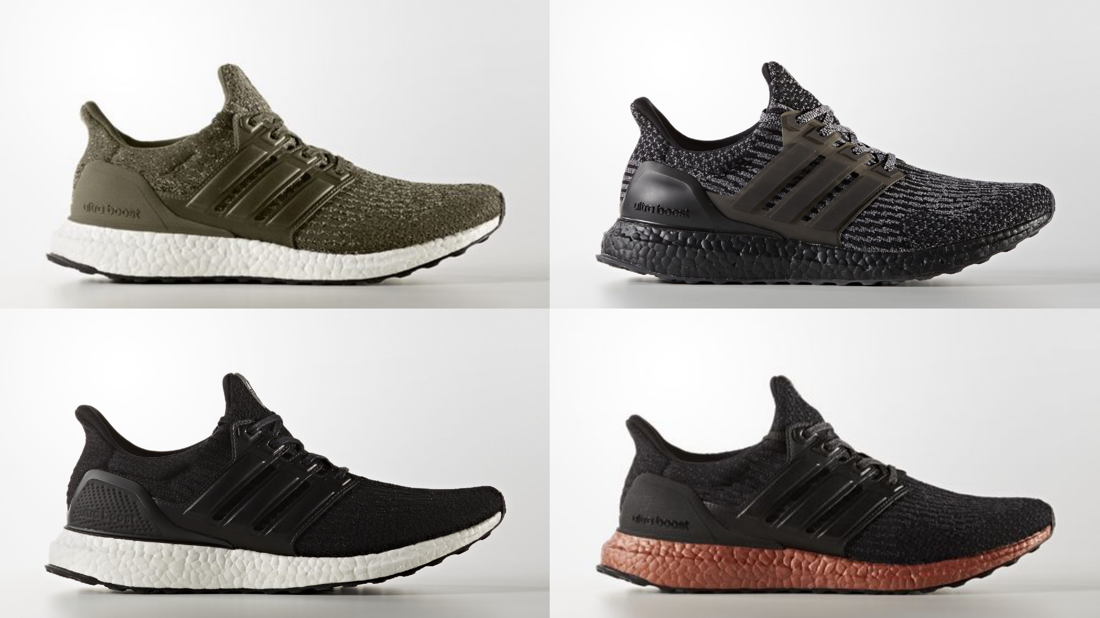 adidas ultra boost 3.0 new colorways