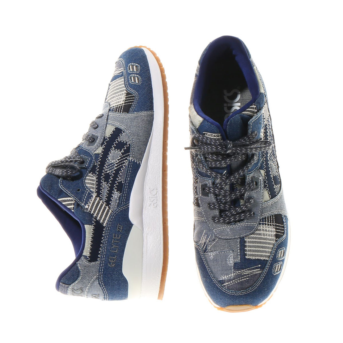 asics tiger gel-lyte ii ranru pack indigo blue 2