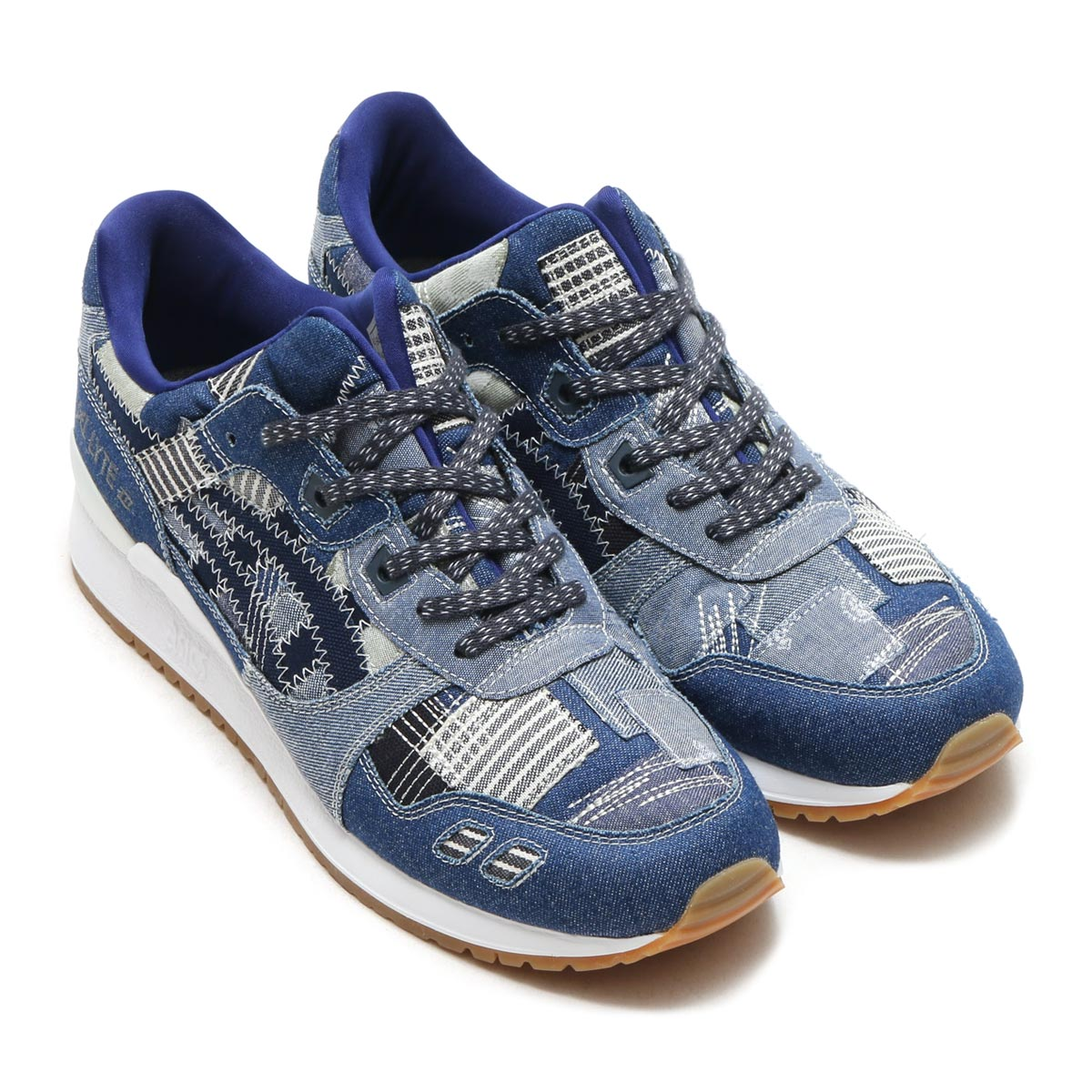asics tiger gel-lyte ii ranru pack indigo blue 3