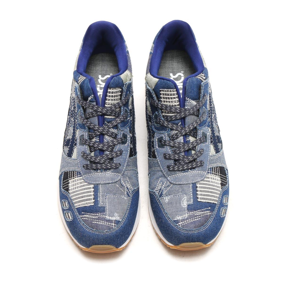 asics tiger gel-lyte ii ranru pack indigo blue 7