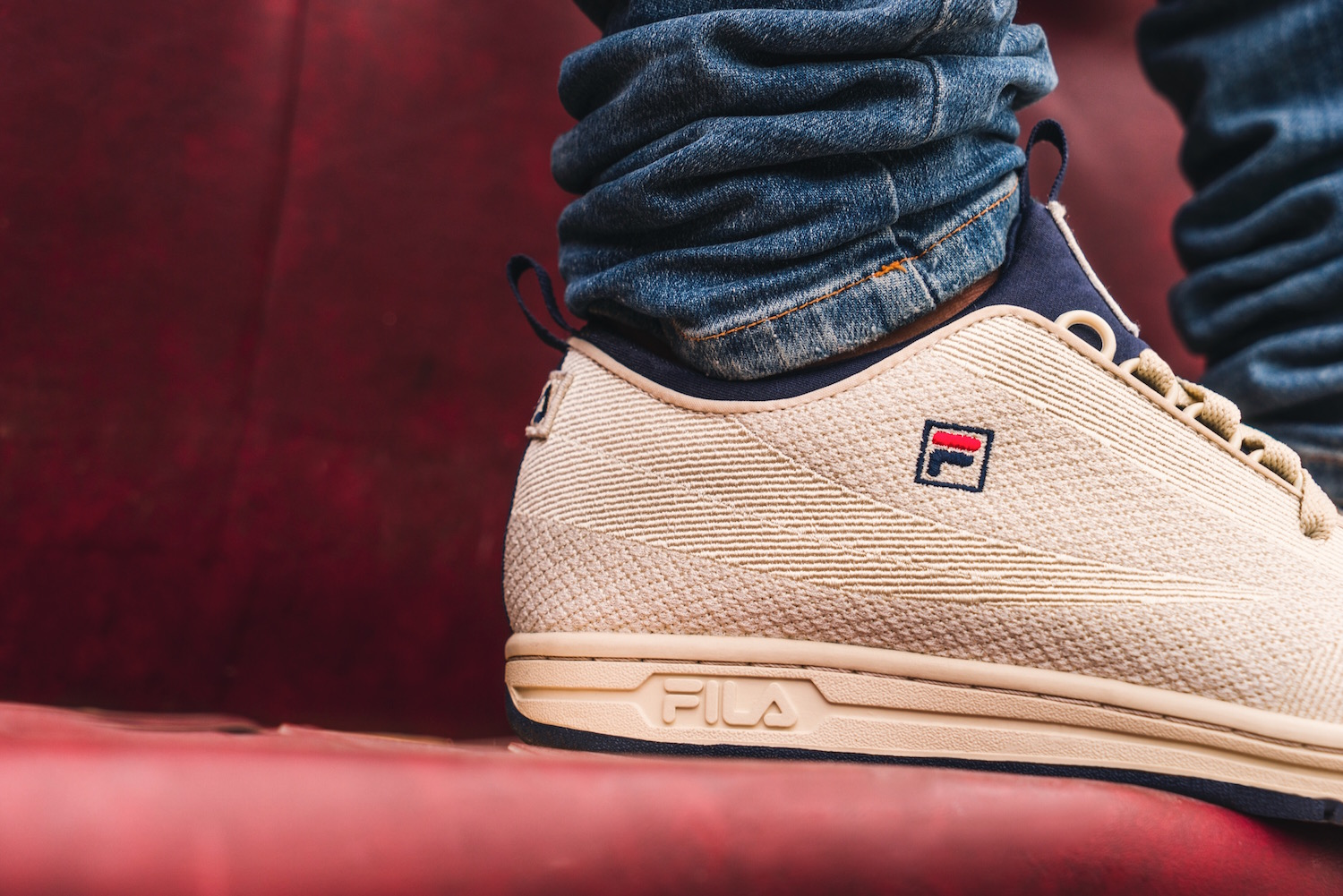 The Fila Original Tennis Gets Updated With Knit Construction